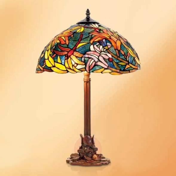 Impressive table lamp Miley, Tiffany style - Table Lamps