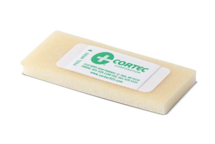 Cortec VPCI 101 | Embalaje VCI - Emitter betétek a rozsda elleni védelem érdekében Gőzfázisú ko