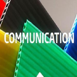 """SUPPORT DE COMMUNICATION TEMPORAIRE - Support de communication - Diplast série """"P"""""""