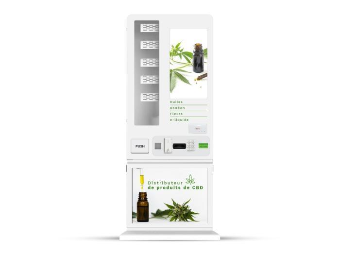Distributeur automatique de CBD - Distributeur automatique de produits pour CBD