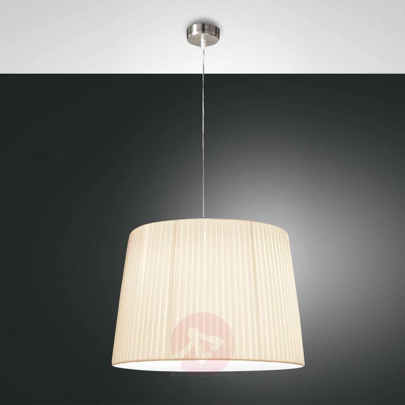 Dorotea Designer Hanging Light Discreet Beige - design-hotel-lighting