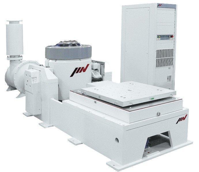 Schwingprüfsystem der Baureihe J, 16 bis 54 kN - Elektrodynamisches, luftgekühltes Schwingprüfsystem mit ECO-Technologie