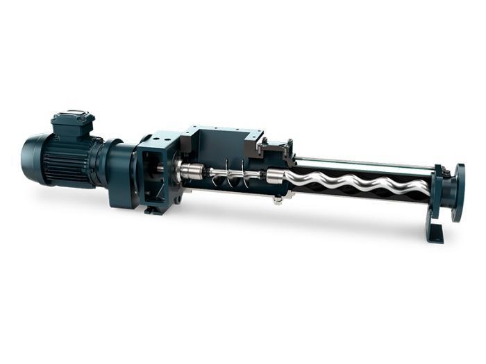 NEMO® BO/BS Pump with Hopper in Block Construction -
