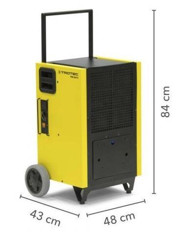 Déshumidificateur TROTEC TTK 655 S - Déshumidificateur  professionnel 150 litres/jour