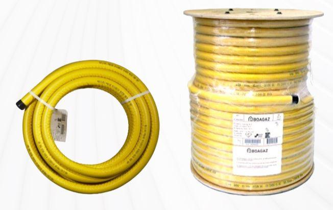 Corrugated pliable tubing PLT - null