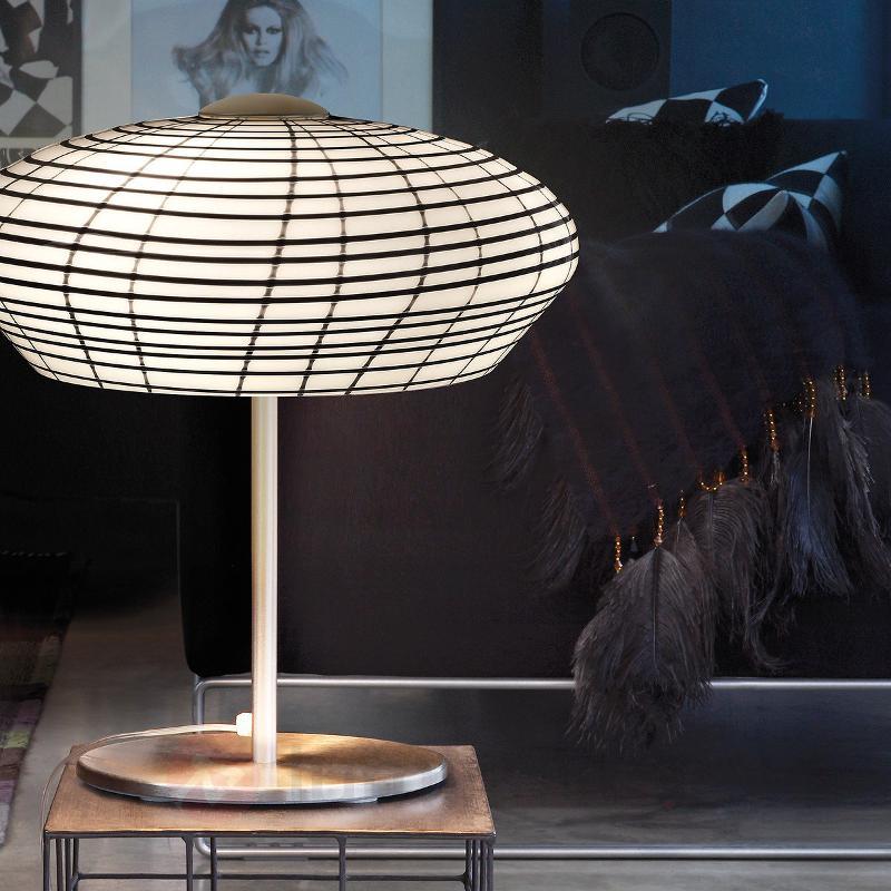 lampes de table en verre entreprises. Black Bedroom Furniture Sets. Home Design Ideas