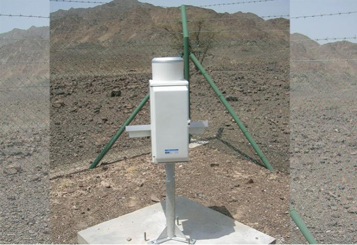 Pluviomètre RG 100 à bascule -