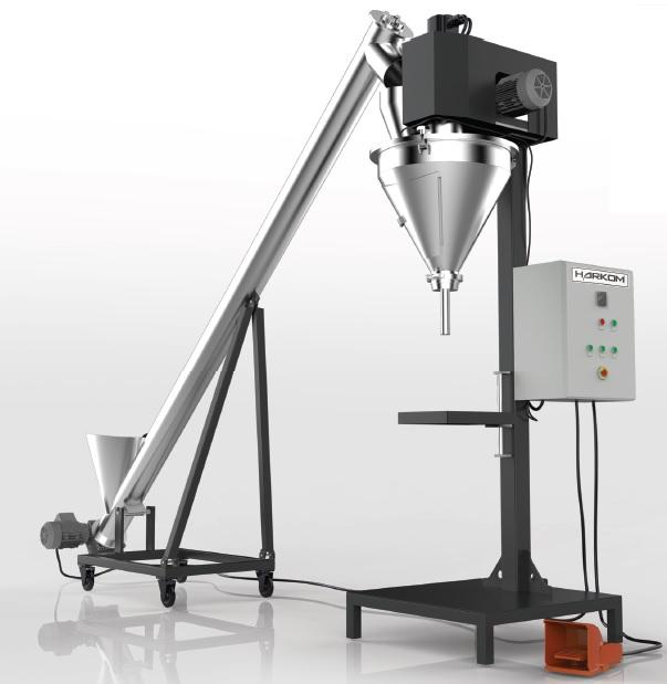 SA-A SERIES Semi Automatic Auger Filling Machine -