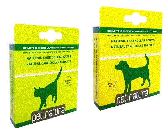 Collar repelente  - Repelente natural de parásitos externos e insectos voladores. 100% naturales
