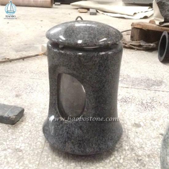 Wholesale Granite Cemetery Lamp For Memorial - Lamp