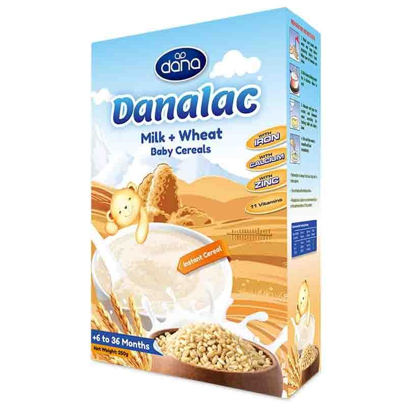 嬰兒米粉-DANALAC-嬰兒食品&營養品 - DANALAC帶來嬰幼兒成長所需的所有營養以及維他命