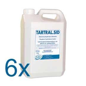 TARTRAL.SID ct 6x5 L - Détartrant phosphorique alimentaire