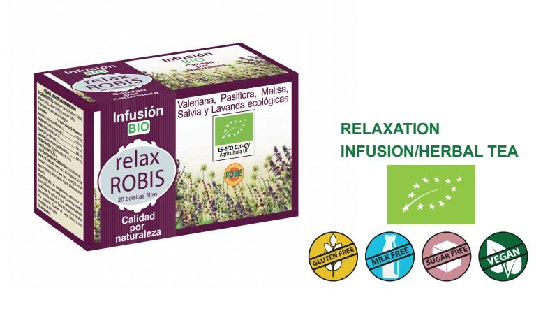 Relax Robis Bio - Relaxation, infusion/herbal tea