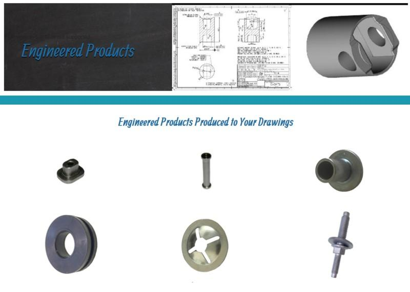 Engineered Products - Supply of fasteners, cold forgings and moulded parts to Customer design