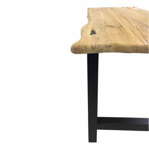 Table en vieux chene patina 2 - PLATEAU EN VIEUX CHÊNE PATINA 2