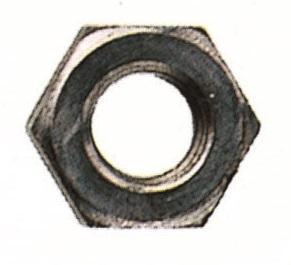 Dado medio esagonale UNI 5588 - Accessori per Sedie