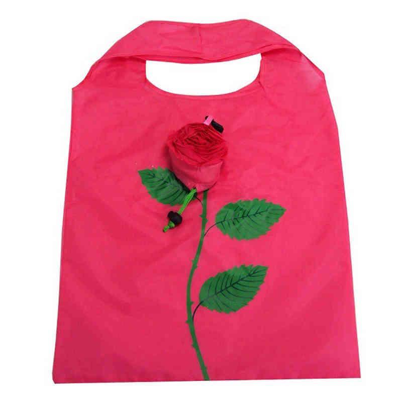 Unique design flower folding bag - full printing color
