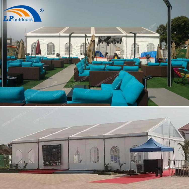 500 человек шириной 15м на открытом воздухе - 15-метровая палатка для вечеринок от LP OUTDOORS