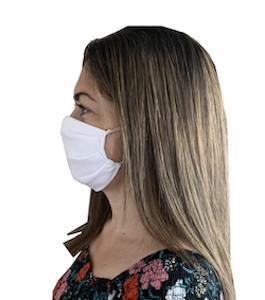 Masque en tissu réutilisable (fabrication France) - Masque en tissu 100% polyester et polyamide réutilisable et lavable