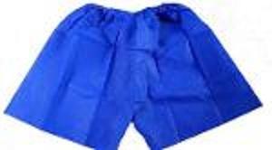 Pantalón corto desechables no tejidos -