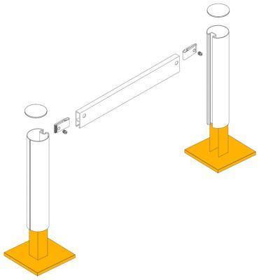 Socle pour bi mat- mats Ø90 mm - ACCESSOIRES BI-MÂT