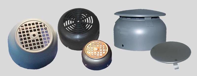 Components for electric motors - Fan Cowls