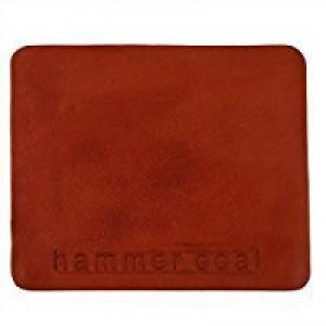 Genuine Leather Card Wallet Case Blue Red - wallet