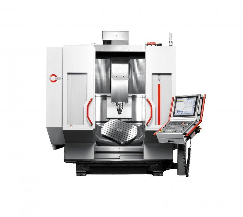 Machining centre C 42 - The C 42 - a high-performance 5-axis CNC machining centre - milling and turning