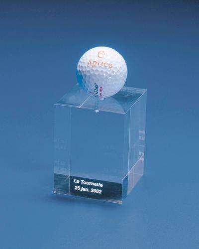Trophées & tombstones en Plexiglas  - Trophée type: award spec 4