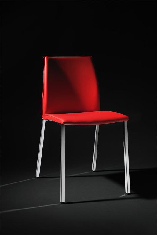 sedia rossa - Arredamento in metallo