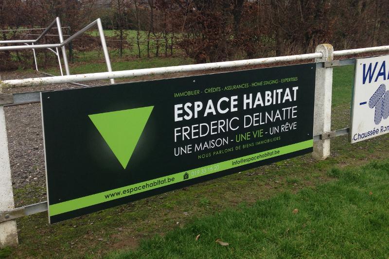 Panneaux belgique entreprises for Fabricant panneau publicitaire exterieur