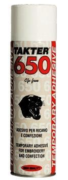 TAKTER® 650 - Adesivo spray temporaneo