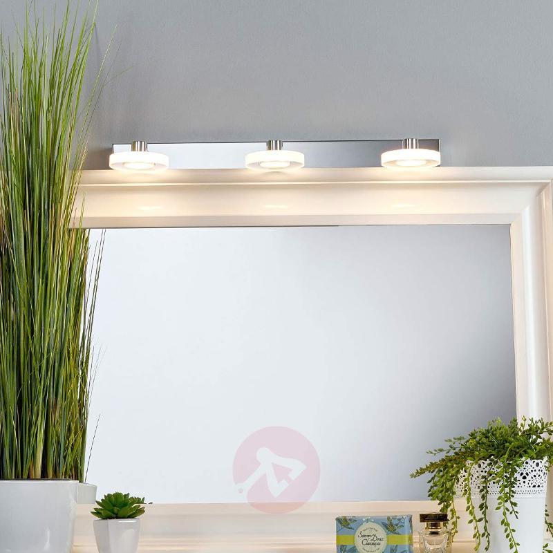 3-light LED bathroom wall light Raphaela - Wall Lights