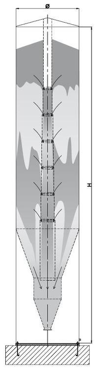 Mixing silo - achbergsilo