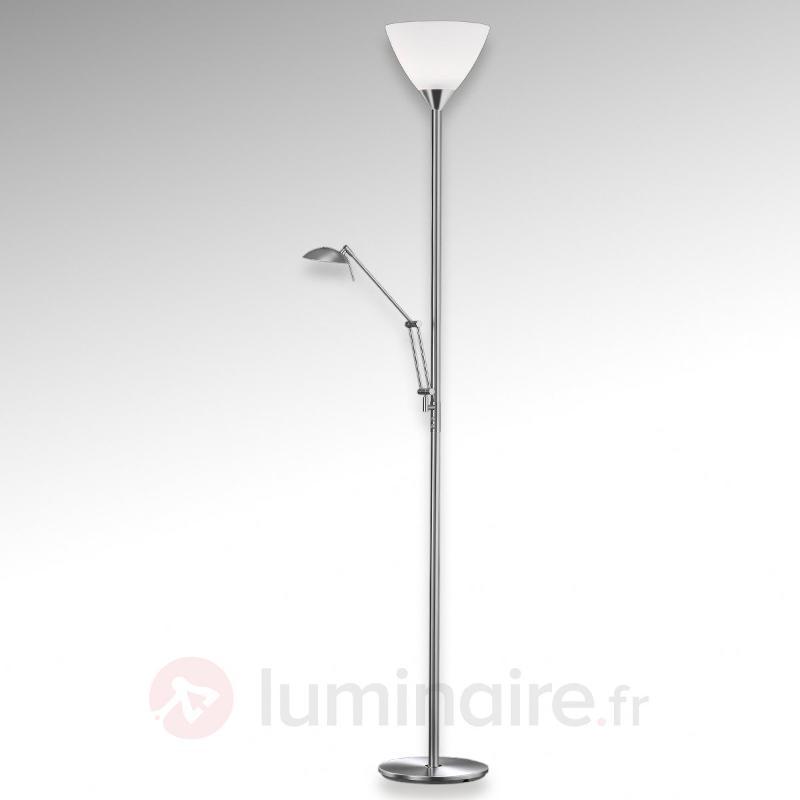 Lampadaire à vasque SATIN avenant - Lampadaires à éclairage indirect
