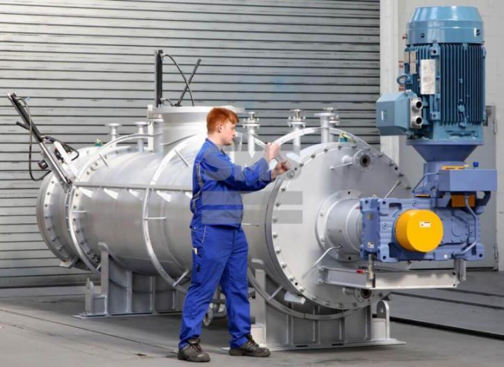 Secador CFT - Secador de tecnología de fluidificación combinada (secador CFT)