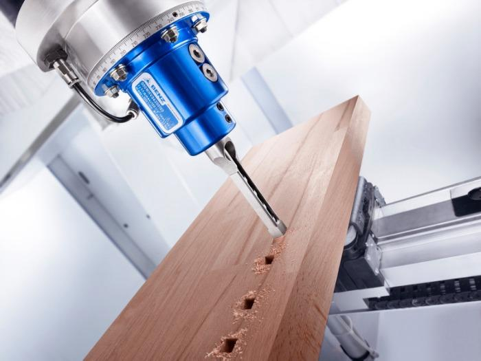 Chisel mortising unit RENITO V (vertical) - CNC unit for machining of wood, composites and aluminium