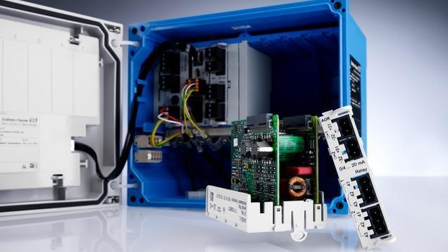 analyse liquides produits - transmetteur multiparametre liquiline CM442