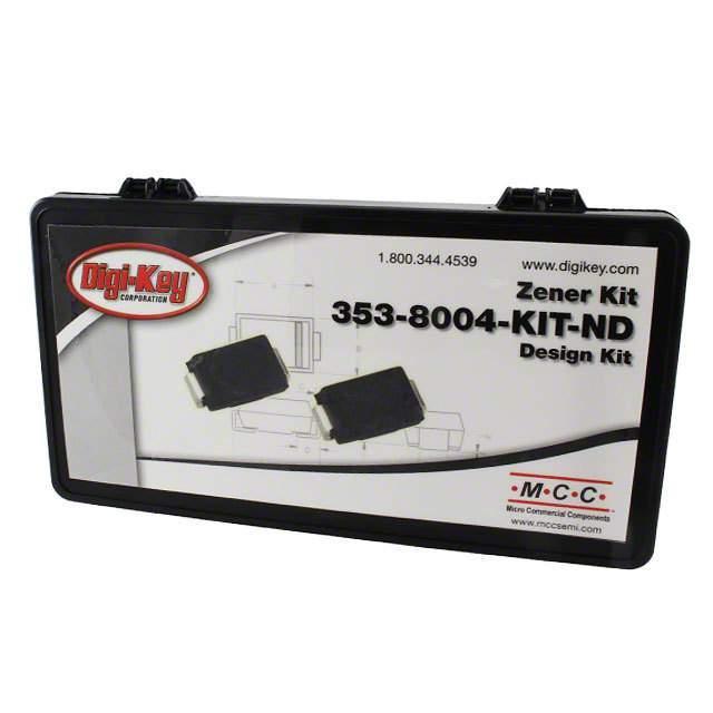 KIT ZENER 10EA OF 18 VALUES - Micro Commercial Co 353-8004-KIT