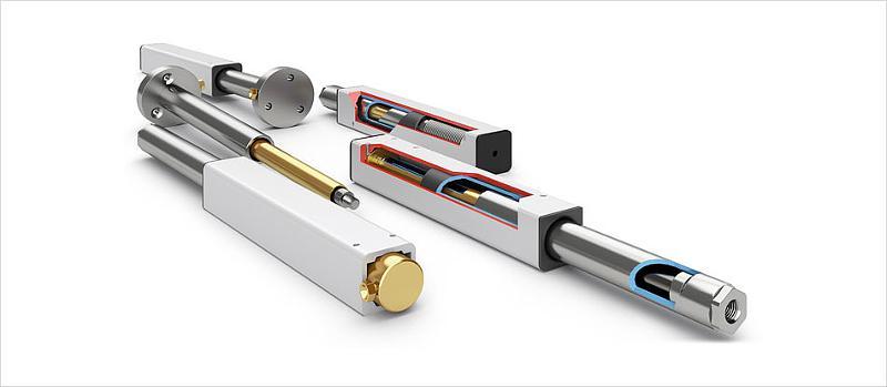 Hydraulic lifting systems - Linear units