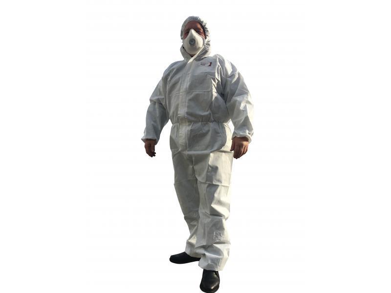Combinaison de protection jetable blanche antistatique... - Protection individuelle EPI