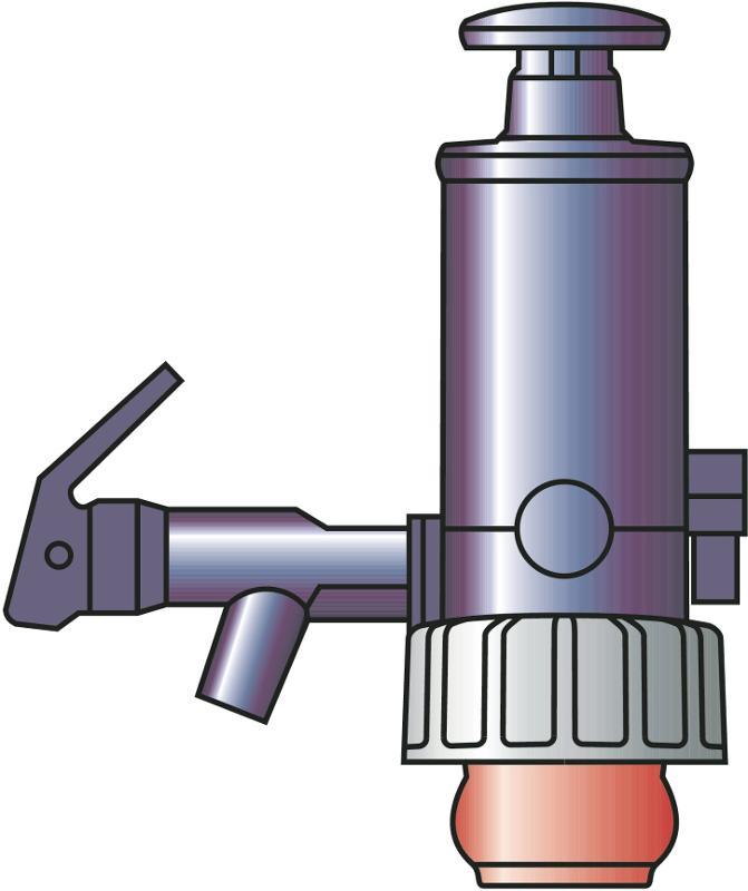 PumpMaster container pump - Manual pump, filling off liquids