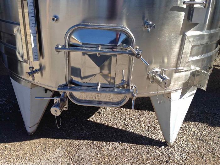 Tanque de aço inoxidável 304 - 100 HL - SPAIPSER10000B