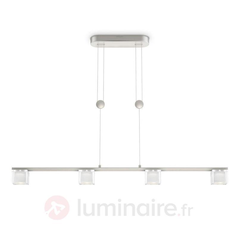 Suspension LED Tibris, à hauteur réglable - Suspensions LED