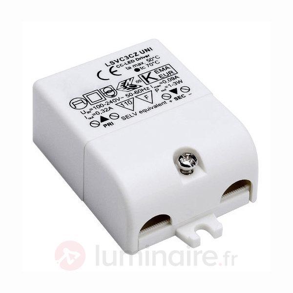 Transformateur LED 3 W 350 mA - Transformateurs LED