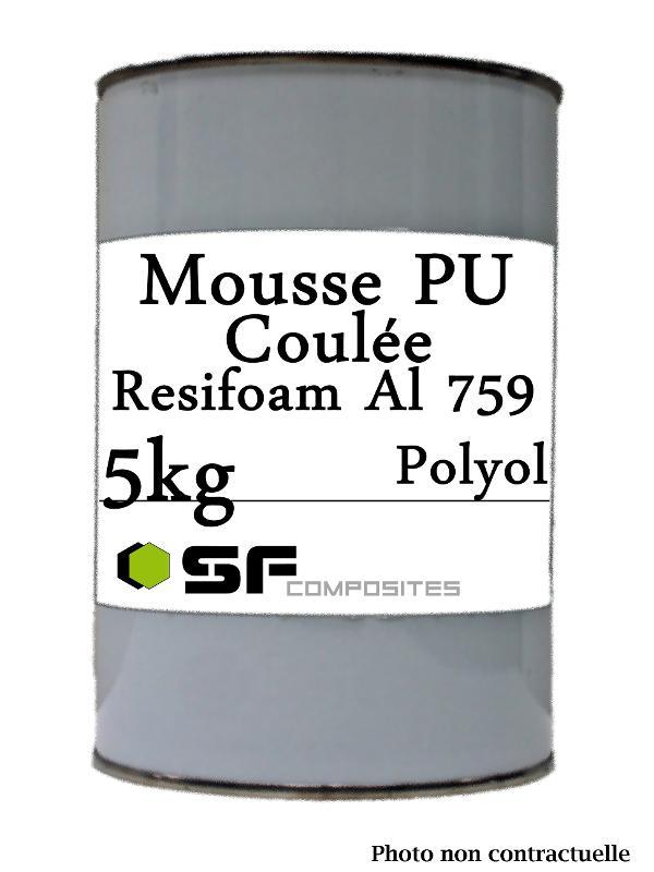MOUSSE PU COULEE  - AL759 EN 5KG