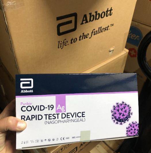 Test Covid Abbott - Test Covid Abbott