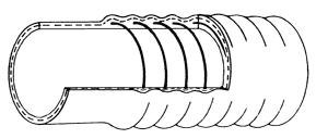 Spiral hose Type Flexoform - Lussoflex® Hoses