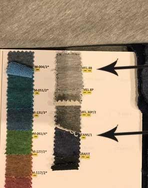 tissus pour l'habillement et ameublement