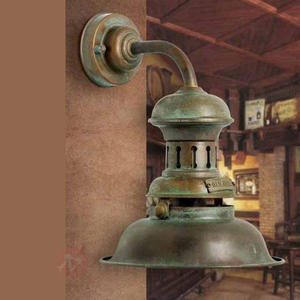 Applique ancienne Nautilus - Appliques rustiques